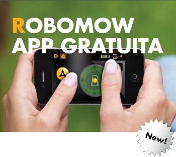 Robomow smartphone