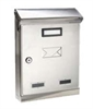 Picture of Mail box stainless steeldimensions: 22x7,5/11x32,5 cm