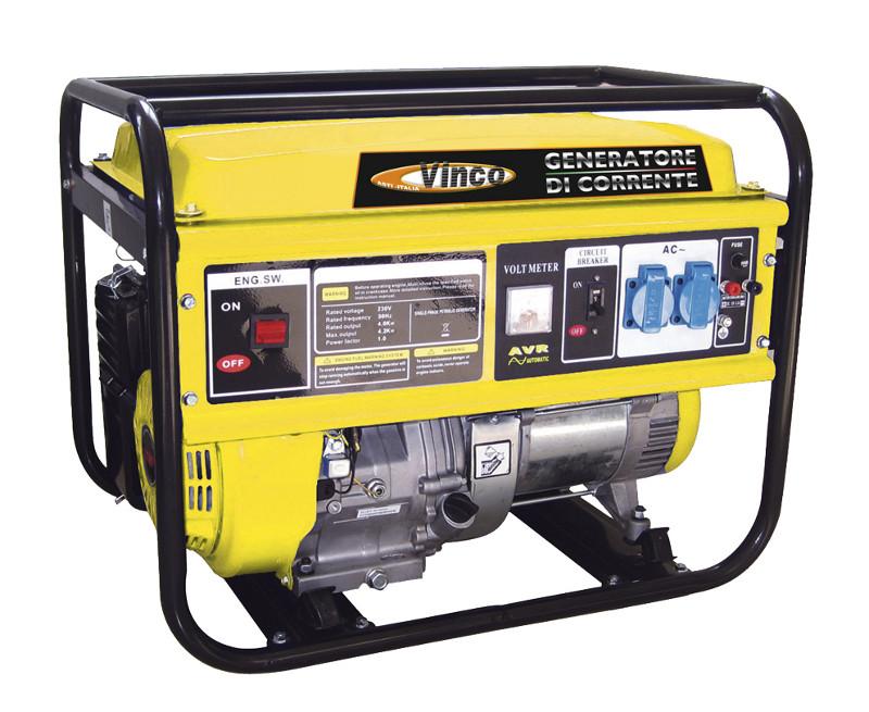 Generatore di corrente vinco potenza massima watts for Generatore di corrente bricoman