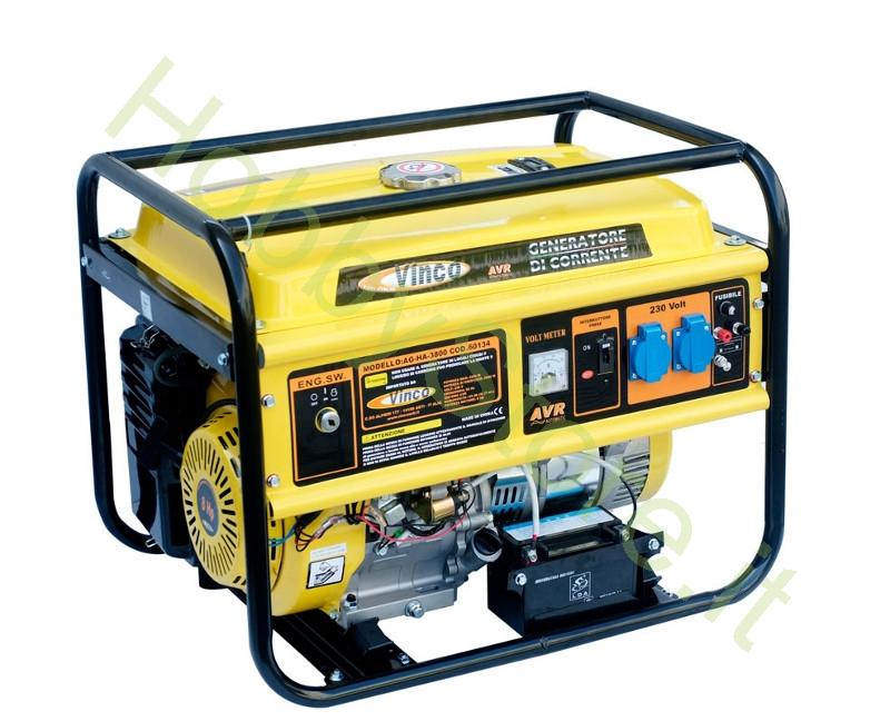 Generatore di corrente vinco 3 2 kw a 619 00 iva inc for Generatore di corrente lidl