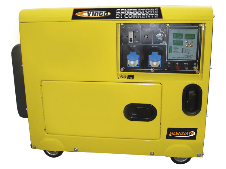 Object moved for Generatore di corrente 10 kw