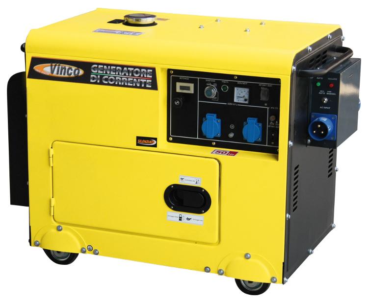Generatore vinco di corrente con avviamento automatico for Generatore di corrente con avviamento automatico
