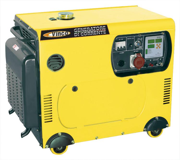 Gruppo elettrogeno diesel vinco monofase 220 volt etrifase for Generatore di corrente lidl