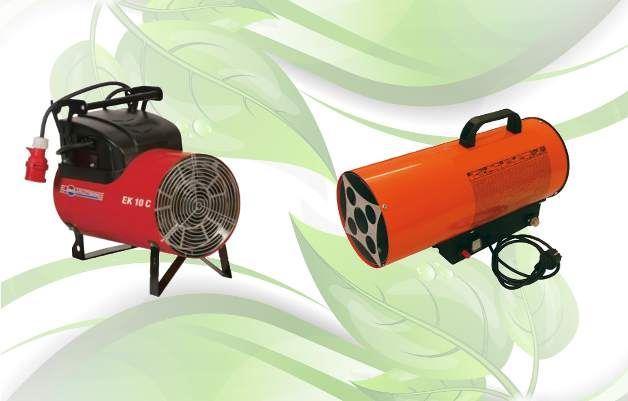 Immagine per la categoria Generatori di aria calda