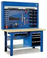 Picture of Banco da lavoro pianale in legno 1500x700x910