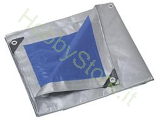 Picture of Telo occhiellato plastificato 200 gr su due lati Varie misure nei dettagli