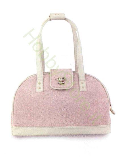 Picture of Borsa color rosa per trasporto del cane