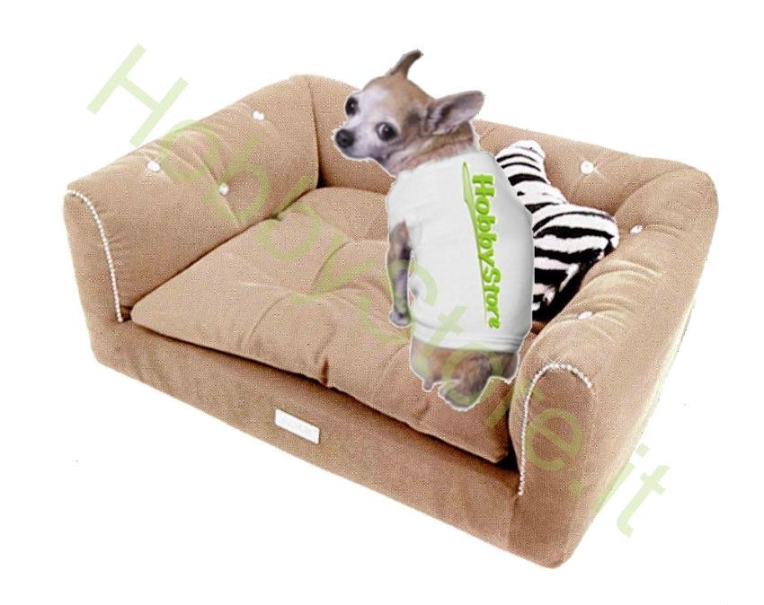 Cuccia divano lussuosa per cane a 89 00 iva inc for Divano per cani