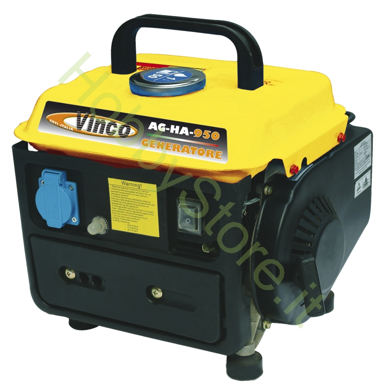 Generatore di corrente silenziato 0 8 kw a 149 00 iva inc for Generatore di corrente lidl