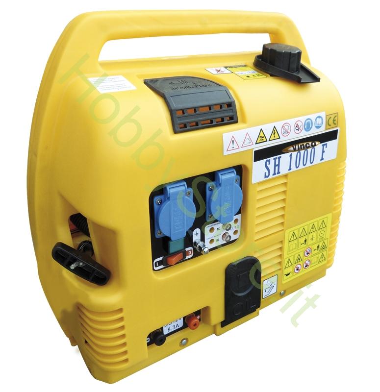 Generatore di corrente silenziato 1 0 kw a 299 00 iva inc for Generatore di corrente bricoman