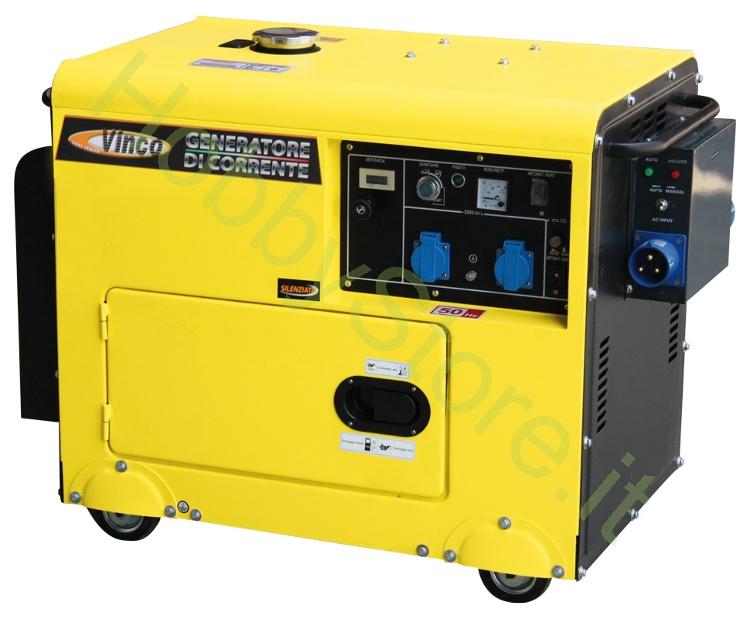 Generatore di corrente diesel vinco 5 0 kw a 1329 00 iva inc for Generatore di corrente bricoman