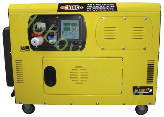 Generatore di corrente diesel vinco 10 0 kw a 3899 00 iva for Generatore di corrente 10 kw