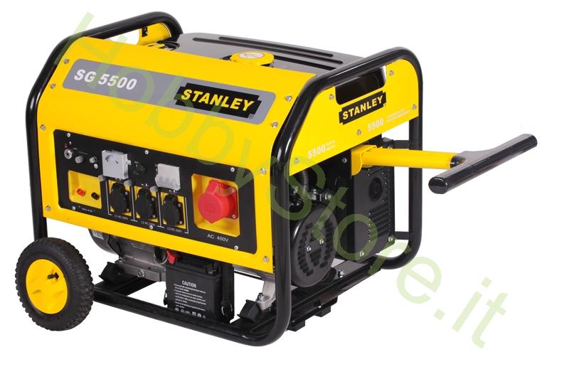 Generatore di corrente stanley sg550 a 1050 00 iva inc for Generatore di corrente wortex