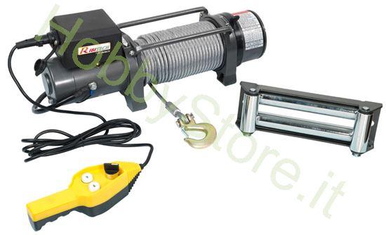 Picture of Argano elettrico 12 volt portata 4.000 Kg