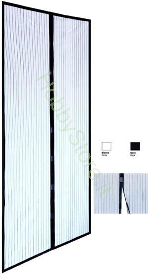 Picture of Zanzariere A Strisce nere  cm.120x240