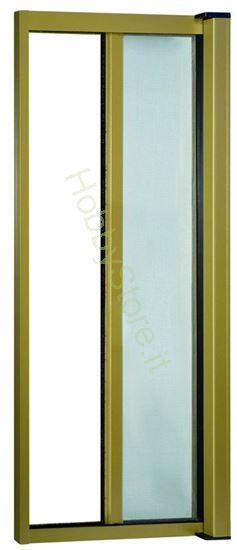 Picture of Zanzariere Alluminio color bronzo  cm.140x250