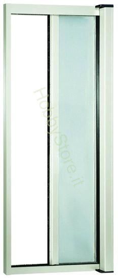 Picture of Zanzariere Alluminio color bianco cm.140x250