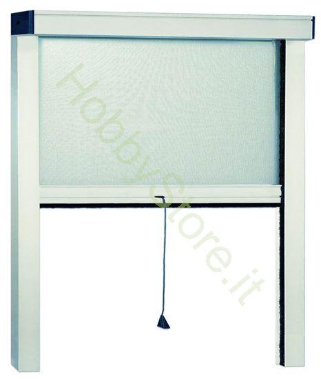Picture of Zanzariere in Alluminio bianco  cm.140x170