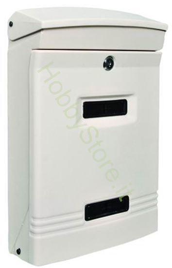 Picture of Cassetta postale bianca dim.  25x12x37h cm