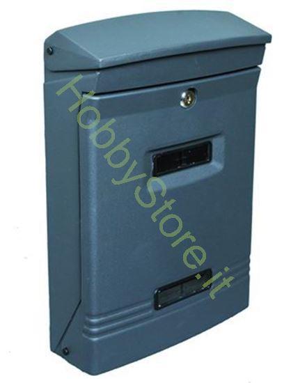 Picture of Cassetta postale antracite dim.  25x12x37h cm
