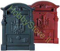 Immagine di Cassetta postale nera 28x9x41h cm