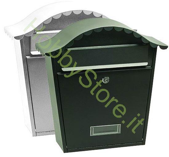 Picture of Cassetta postale Nera  36x13x37h cm