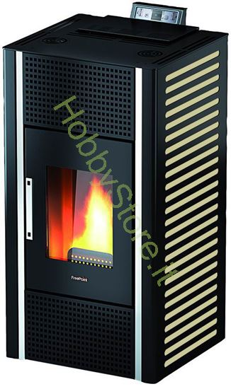 Picture of Stufa Freepoint-Cadel Pellet Gioia 12,7kw Canale