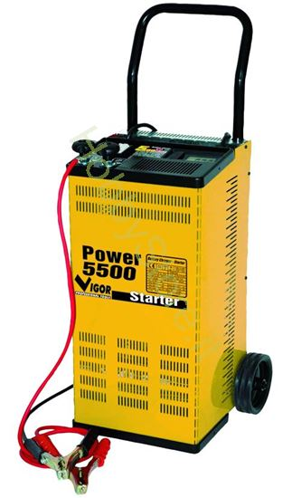 Picture of Caricabatterie Vigor Power 5500 C/Ruote