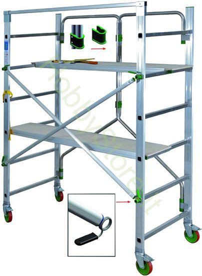 Picture of Trabattelli Alluminio Facal Piego Richiudibili