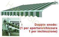 Immagine di Tende Da Sole Avvolgibili A Sbraccio Bia/Verde cm.195x150