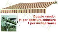 Immagine di Tende Da Sole Avvolgibili A Sbraccio Bia/Rosso cm.195x150