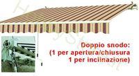 Immagine di Tende Da Sole Avvolgibili A Sbraccio Bia/Rosso cm.395x250
