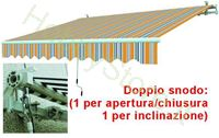 Immagine di Tende Da Sole Avvolgibili A Sbraccio Gia/Grig. cm.395x250