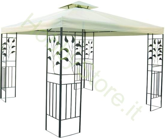 Picture of Gazebo  Metallo Decorato