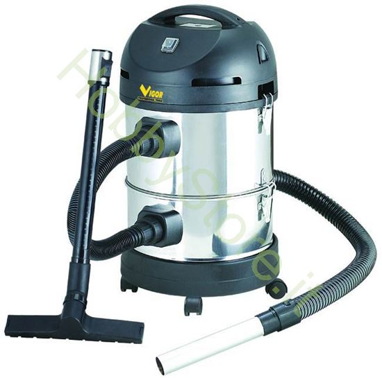 Picture of Bidone Vigor Combinato Vba-28 litri Inox watt 1400