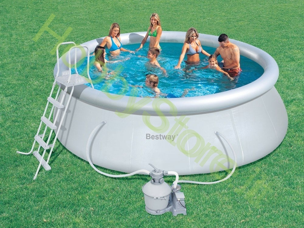 Piscina bestway fast set 457x122h cm a 299 00 iva inc for Piscina bestway