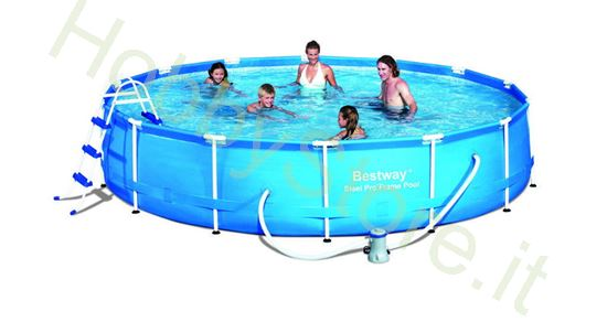 Picture of Piscina Steel Pro Frame, Cm. 457x91