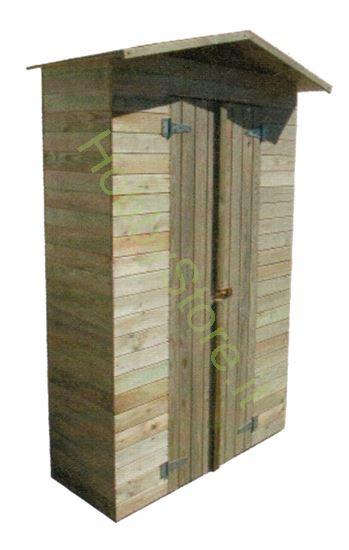 Picture of Casetta In Legno Cabin mt. 1,5x0,75x2h