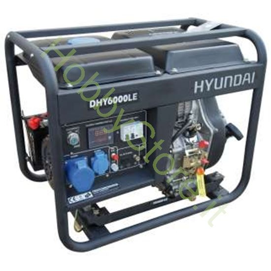Picture of Generatore Hyundai dhy6000lek 5,3 Kw