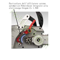 Sistema Powersharp di Elettrosega Oregon cs 1500