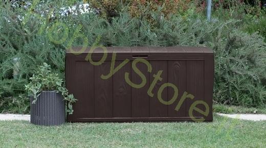 Cassapanca sherwood keter a 49 00 iva inc for Cassapanca da giardino