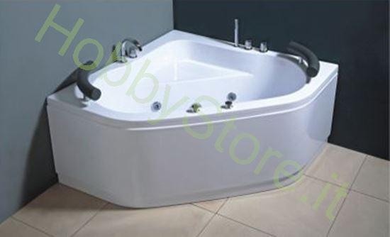 vasca ad angolo idromassaggio