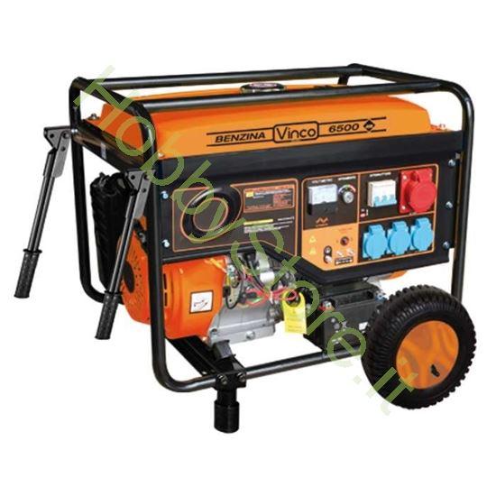 Picture of Generatore di corrente carrellato Vinco 5,5 kW 6012720296 trifase/monofase