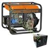 Immagine di Generatore di corrente carrellato Diesel Vinco 5,5 kW 60211ATS65299