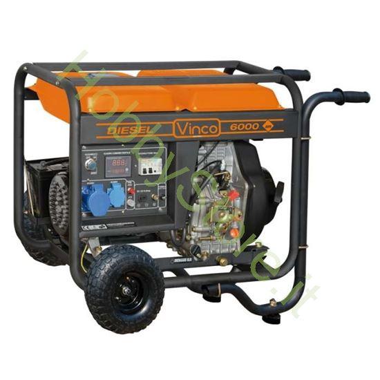 Picture of Generatore di corrente carrellato Diesel Vinco 5,5 kW 6021160298