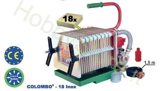 Pompa filtrante per vino Colombo 18 Novax