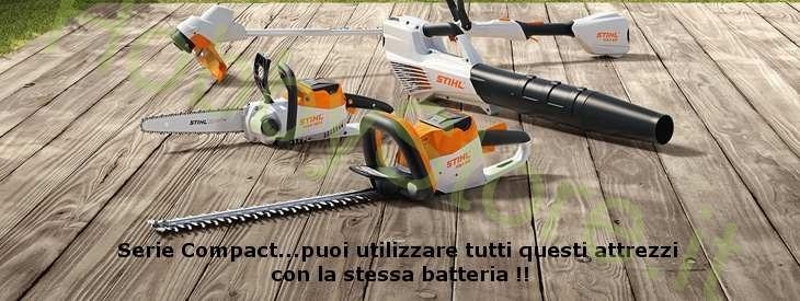 Soffiatore a batteria compact stihl bga 56 senza batterie for Giardino 56 carpi