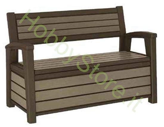 Cassapanca Brushed Bench Finitura legno