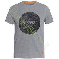 T-Shirt Stihl Disco di Legno