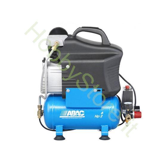 Compressore Abac 6 litri lubrificato